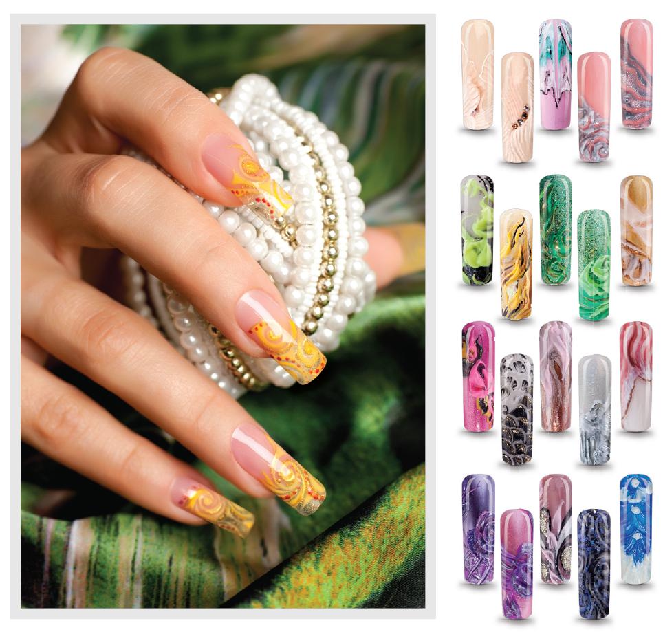 Geheimnisvoller Orient: Nail Art mit 3D-Gelen | CNI-Ihr Partner in ...