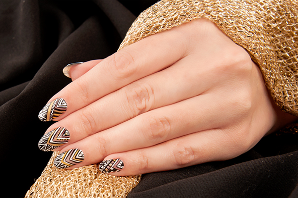 CNI, CNI Schulungszentrum, Elena Morozova, Nails, Nagelkosmetik, Nageldesign, Nail Art, Nail-Schulung, Step by Step, Tribal